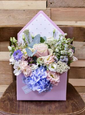 Obálka barevných květin