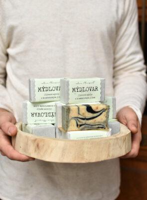 Olivové mýdlo s kambrickým jílem