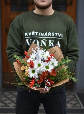 Malá zimní kytice