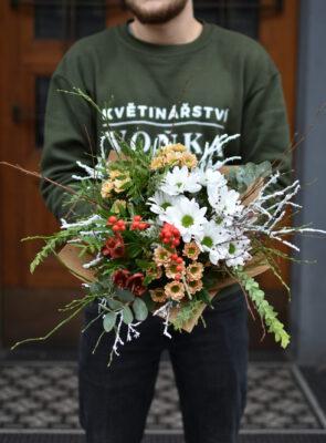 Střední zimní kytice