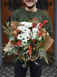 Obrovská zimní kytice