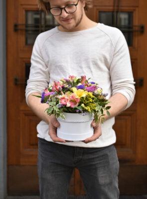 Malý letní flowerbox