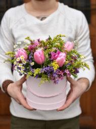 Velký jarní flowerbox