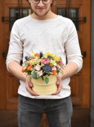 Malý barevný flowerbox