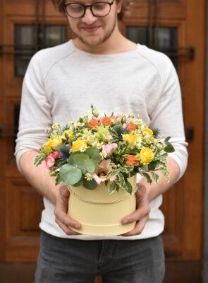 Velký barevný flowerbox