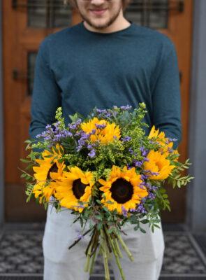 Menší slunečnicová